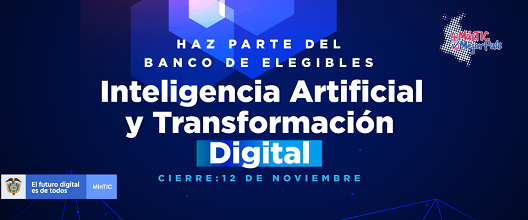 Cupos gratuitos para formación virtual en Inteligencia Artificial y transformación digital