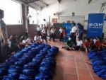 Entregados 1200 kits a escolares de instituciones educativas en Cúcuta