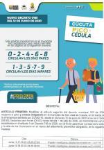 Pico y cédula día por medio en Cúcuta