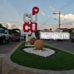 Inauguran obras de la alcaldía en separador a Cenabastos Cúcuta