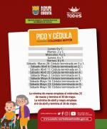Primer pago especial anticipado a los adultos mayores de Cúcuta
