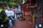 Monitorean las medidas de prevención en el sector de La Parada Villa del Rosario NdS